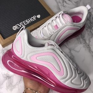 Nike Air Max 720  - Color: Pink White